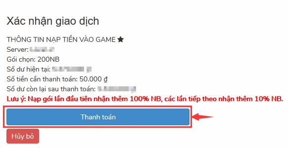 Mua Goi vat Pham Game Tien ma Truyen Ky
